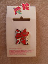 London 2012 Union Jack Logo Limited Edition Pin Badge