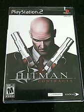 PS2 Games Hitman Contracts Sony PlayStation Game Video ps Action Play Shooter
