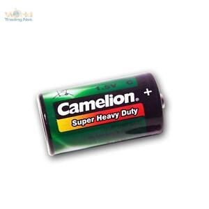 Double Pack Baby R14 LR14 Batteries Camelion 1,5 Volt C