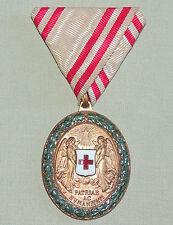 Ehrenmedaille des Roten Kreuz Österreich 1864-1914 am Band