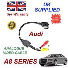 Per AUDI A8 2010+ AMI MMI 4F0051510N Fono RCA Cavo Audio Video