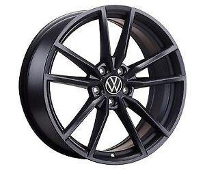 """Brand New GENUINE : 19"""" Pretoria alloy wheel SET, matte graphite, mk7 GTI R GTD"""