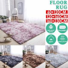 Fluffy Faux Fur Sheepskin Rug Non Slip Large Floor Carpet Rugs Mat Plush Soft