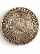 Great Britain   1899 One Shilling  -  NICE GRADE