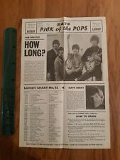 The Beatles original record display poster for Kays record shop 1964