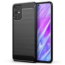 Pour Samsung S20 S20 Plus S20 UltraCoque protection noir fibre silicone