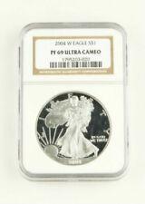 Monedas de plata PR 69