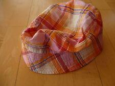 Sommer Girlie Hut Gr.53 rosa/rot/gelb Muster