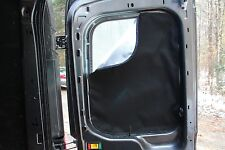 Mid High Roof Ford Transit Curtains Rear Window Radiant Barrier Metal Trim