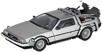 NEW KAIYODO MOVIE REVO No.001 Back to the Future II DeLorean from Japan F/S
