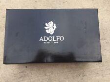Men's Shoes ADOLFO Style Jason Slip On Black Casual Loafer Size 10.5 Medium