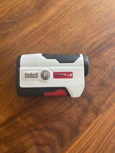 Bushnell Tour V3 Jolt Range Finder - Golf Rangefinder - Yardage Distance White