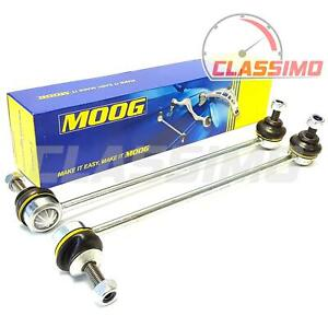 Moog Front Anti Roll Drop Links Pair for BMW 5 SERIES E60 E61 - 2003 to 2010