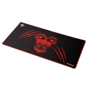 VicTsing Gaming Mouse Mat Large  (800×400×2.5mm) Extended Mouse Pad Black Red