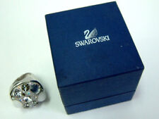 GENUINE AUTHENTIC SWAROVSKI CHIC DOME SILVER/GREY CRYSTAL RING