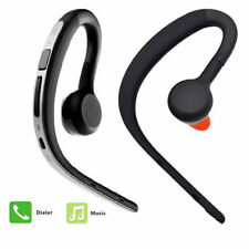 Bluetooth Headset Ear Hook Earphone Noise Cancelling Mic for Android iPhone iOs