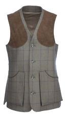E.J. Churchill Olive Tweed Shooting Waistcoat
