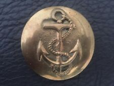 VINTAGE SOLID BRASS MID CENTURY NAUTICAL ANCHOR MENS HANDCRAFTED BELT BUCKLE