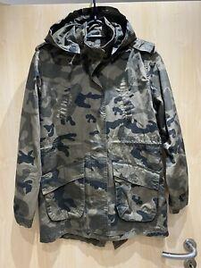 C&A Damen Jacke Parka Mantel camouflage Muster 40