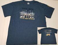 Notre Dame Football 2014 ND Fighting Irish Blue Tradition T-Shirt tee Men XL New