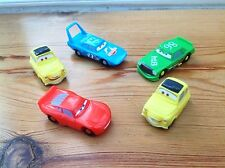 Disney Pixar Cars Micro Mini Plastic Cars Bundle #1 - Ideal As Cake Decorations
