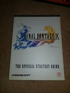 FINAL FANTASY X - PIGGYBACK OFFICIAL STRATEGY GUIDE