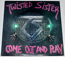 Philippines TWISTED SISTER Come Out And Play LP Record