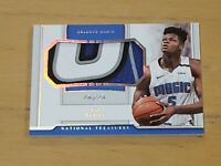 2018 National Treasures Mo Bamba True One of One Rookie Patch Sick 4 Clr 1/1 RC