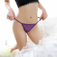 Women Sexy Underwear Dots Lace Panties Brief Thongs Lingerie Knicker G-string t
