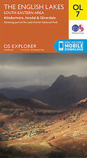 OL7 Lake District South Eastern Lakes Ordnance Survey Explorer Map OL 7