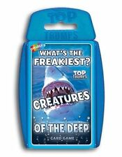 Top TRUMPS Creatures of The Deep Card Game