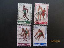 malawi 446-49 cpl set   used