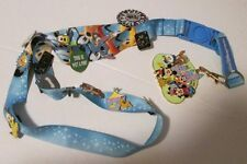 Lot of 14 DISNEY Trading PINS (7 Pluto) on lanyard with 2007 pin trading clip