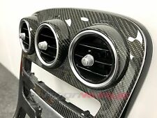 Mercedes Clase C C63 consola de centro de fibra de carbono ventilaciones de aire-W205 C43-UK Stock