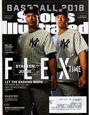 SPORTS ILLUSTRATED - Apr 2, 2018 - Baseball - YANKEES - Stanton & Judge on Cover