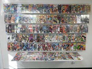 Huge Lot 150+ W/ Batman Beyond, Demon, Catwoman Avg VF- Condition!