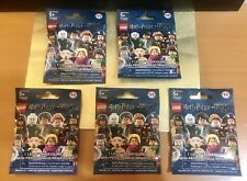 LEGO Harry Potter Fantastic Beasts Minifigure Blind Bag Lot of 5 Sealed Bags NEW