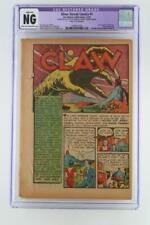 Silver Streak Comics #1 - CGC NG (Restored) -Lev Gleason 1939- 1st App The Claw!