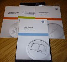 2014 VW JETTA GLI OWNERS MANUAL SET 14 w/case + NAVIGATION GUIDE