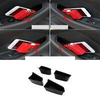 Interior Front & Rear Door Storage Box Organizer Holder For Audi A3 8V 2014-2018