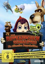 2 DVDs * Das Rotkäppchen Vermächtnis - Die ultimative Doppeledition * NEU OVP