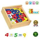 Viga Colorful Magnetic Numbers 37-piece - Same Day DISPATCH