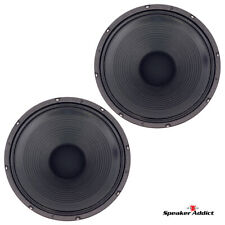 PAIR - Peavey Blue Marvel Classic-1238-4 ohm guitar speaker Eminence made in USA