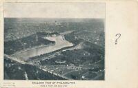 PHILADELPHIA PA – Balloon View of Philadelphia – udb – 1905