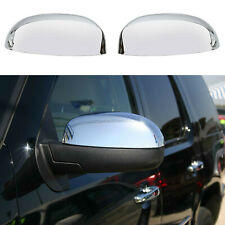 For 2007-2013 Chevy Silverado / GMC Sierra CHROME Top Mirror Covers Replacement