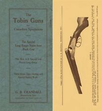 Tobin Guns 1926 Catalog, Woodstock, Ontario