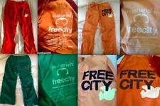 FREE CITY x Maharishi Limited Edition CARGO PANTS GREEN XS ORANGE Small NEW RARE