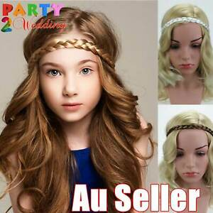 Synthetic Hair Band Plaited Plait Elastic Bohemia Braided Headband Hairband