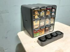 """ Flavia "" Counter Top 12 Flavors Tea/Coffee Bag Display Merchandiser Holder"