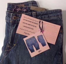 NEW FRX Womens Blue Jeans Size 6 Slim Shape Butt Lift Stretch Leg Boot Cut Pants